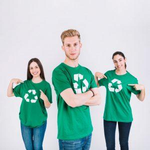 תמונה של הדפסה על חולצות לעובדים