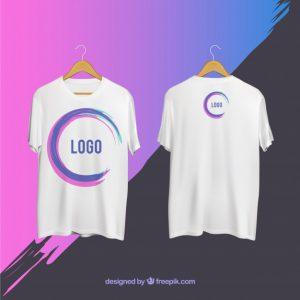 תמונה של הדפסת לוגו על חולצה